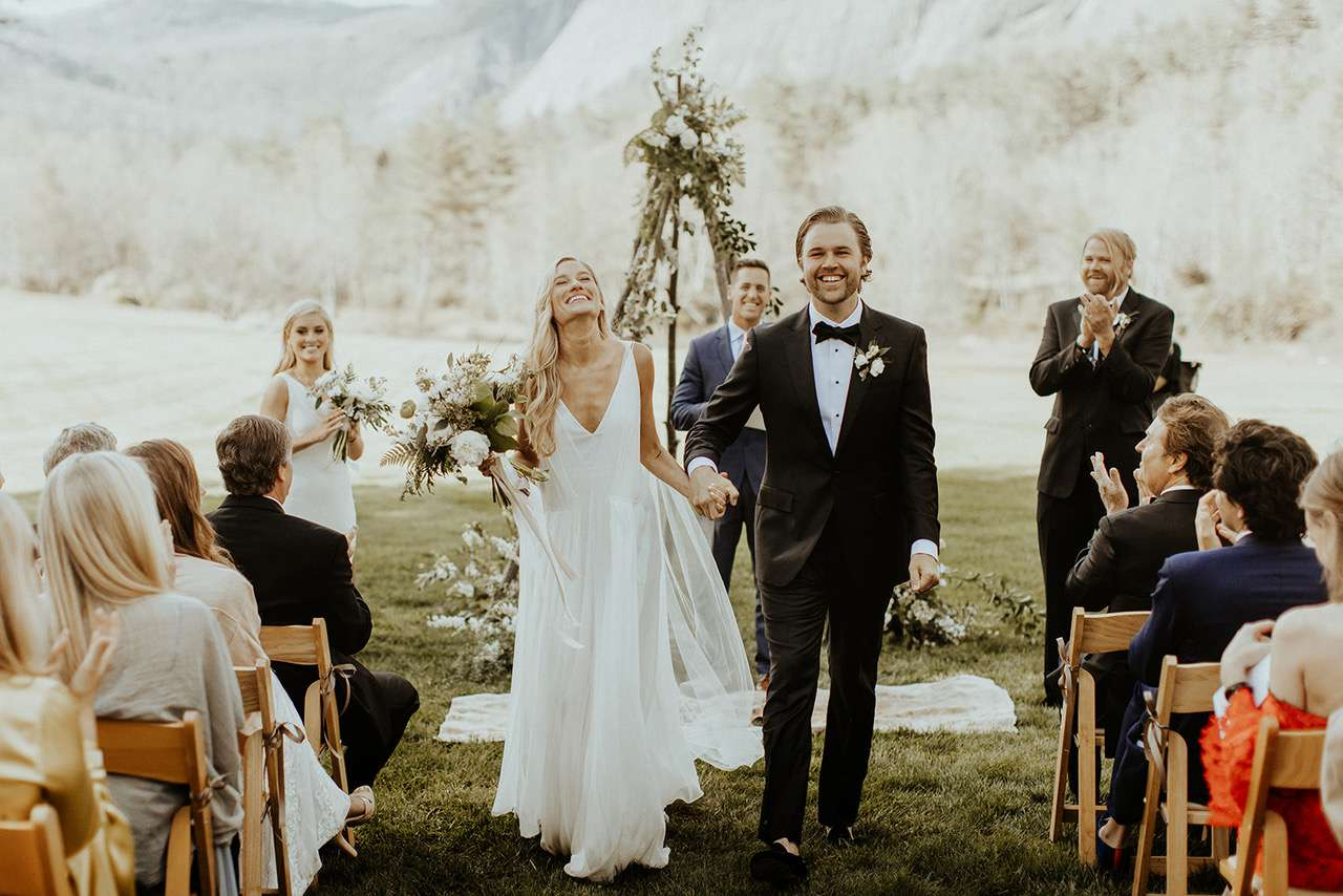 Romantic Chic Wedding Gowns For The Bohemian Bride