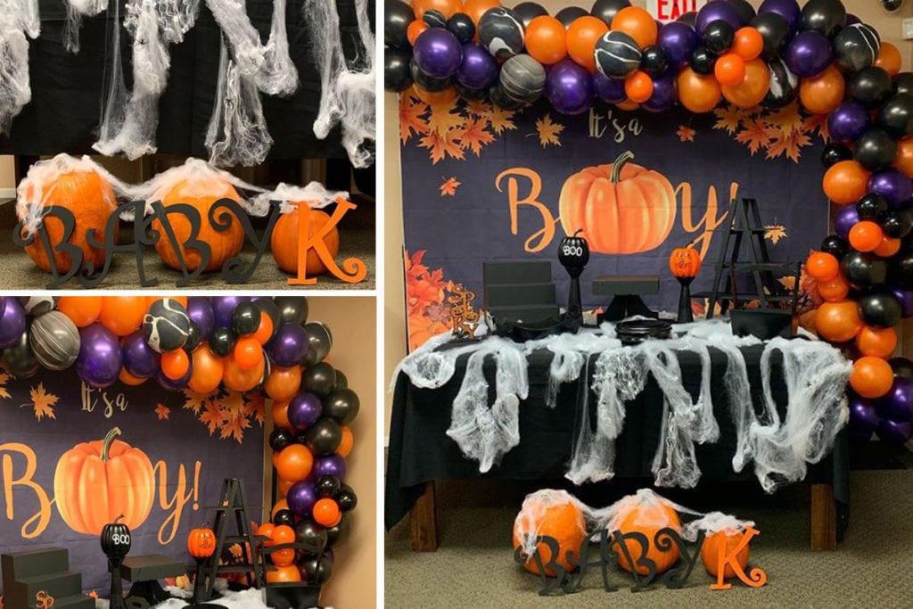 Halloween Baby Shower Food Ideas